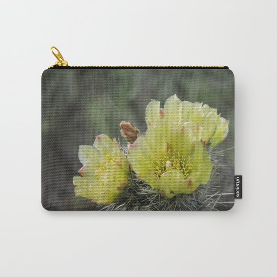 California Cactus Blooms Carry-All Pouch