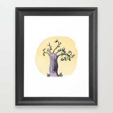 Petit oiseau Framed Art Print