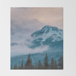 Icefields Parkway, AB Throw Blanket