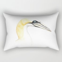 Northern gannet Rectangular Pillow