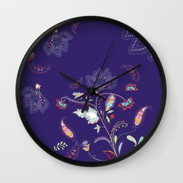 Petite Paisley Collection Wall Clock