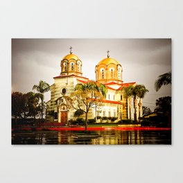 St. Stevens Serbian Orthodox Cathedral, Alhambra, CA Canvas Print