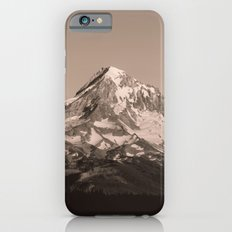 Mount Hood - Black and White Slim Case iPhone 6s