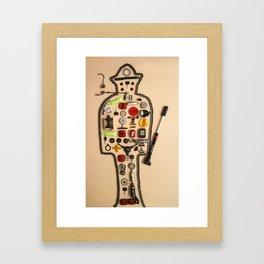 074: Playtime - 100 Hoopties Framed Art Print