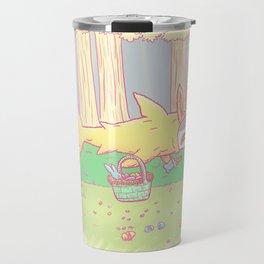 The Easter Bunny Shark Travel Mug