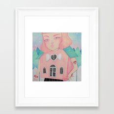 Dollhouse Framed Art Print