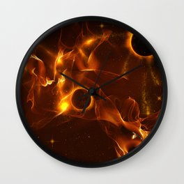 The inferno Wall Clock