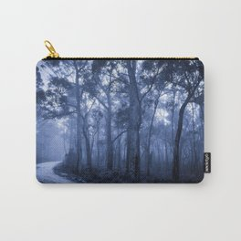 Dark Misty Road Carry-All Pouch
