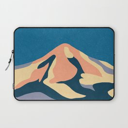 Over The Sunset Mountains Laptop Sleeve
