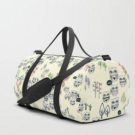 Forest Of Owls Duffle Bag