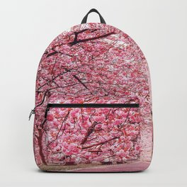 Cherry Blossom in Greenwich Park Backpack