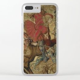Hunt of Maximilian 2 Clear iPhone Case