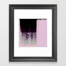 40hz: Glass Framed Art Print