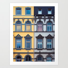 German architecture #society6 #decor #buyart Art Print