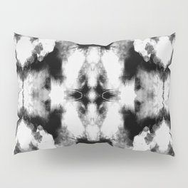 Tie Dye Blacks Pillow Sham