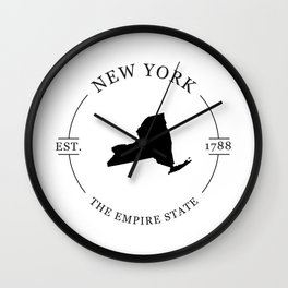 New York - The Empire State Wall Clock