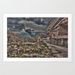 Sicilian Castle Art Print