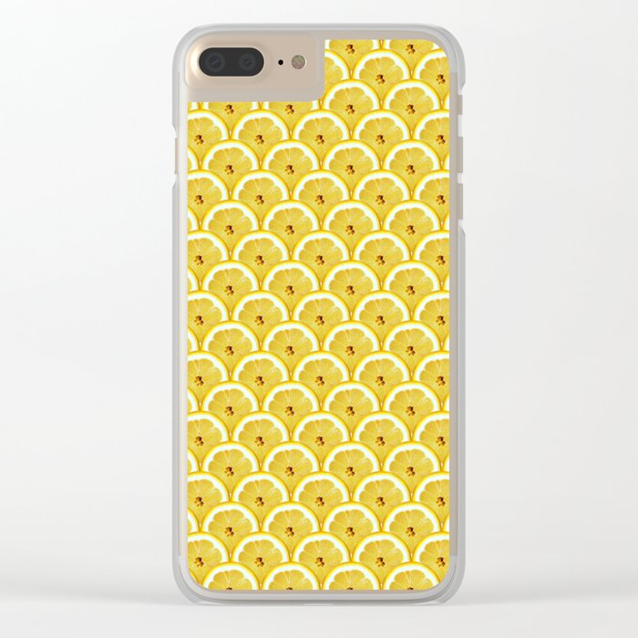 Lemons are watching you! Clear iPhone Case