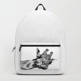 7261cec2cb87 Black and white giraffe Backpack