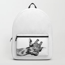 Black and white giraffe Backpack