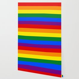 Pride rainbow flag Wallpaper