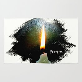 Candle of Hope Rug