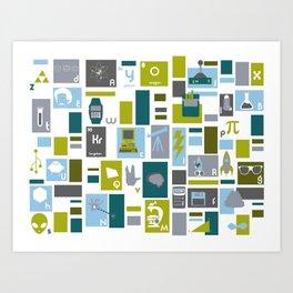 Geek Chic Art Print