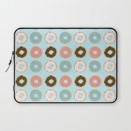 Sweet Sprinkled Donuts Laptop Sleeve