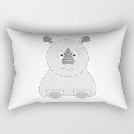 Baby Rhino Rectangular Pillow