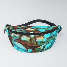 Metal and Blobs Fanny Pack
