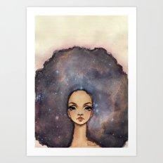 Heart Nebula Art Print