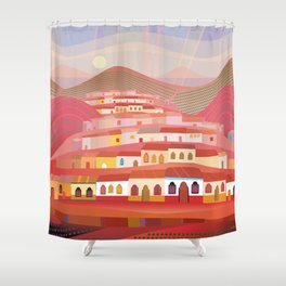 Afternoon in Guatemala Shower Curtain