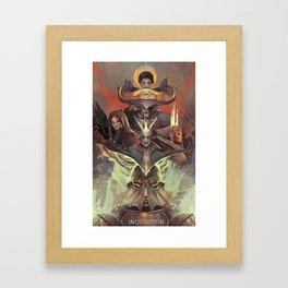 Hope of Thedas Framed Art Print