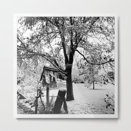 Winter Beginnings Metal Print