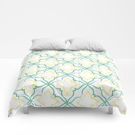 Alhambra Tile Pattern Comforters
