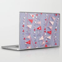 card Laptop & iPad Skins featuring Hate card by Lime