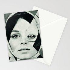 Frau mit Dreieck 2 Stationery Cards