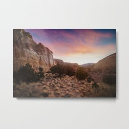 Capitol Reef Sunrise Metal Print