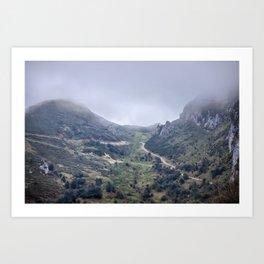 Picos de Europa Art Print