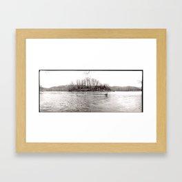 Potomac Geese Framed Art Print
