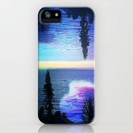 Circle Sunset iPhone Case