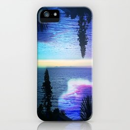 Circle Sunset iPhone Case