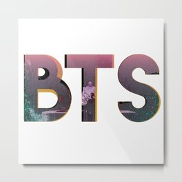BTS LOVE YOURSELF Metal Print