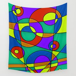 Abstract #61 Wall Tapestry