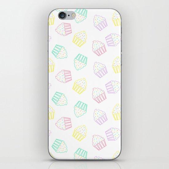 pastel cupcakes  iPhone & iPod Skin