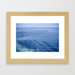 She Fell in Love on the Vast Wild Sea Framed Art Print
