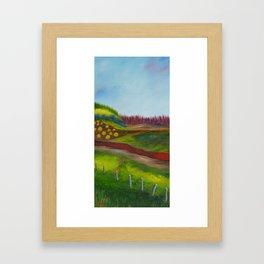 Traveling Through Framed Art Print