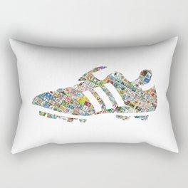 Philately Copa Mundial Soccer Cleats Rectangular Pillow