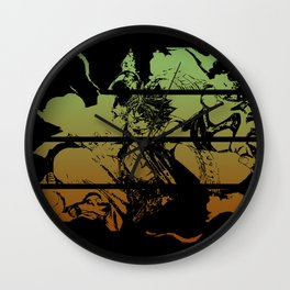 ND Action Wall Clock