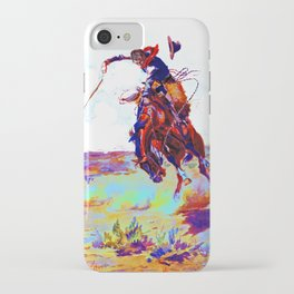 Charles Marion Russel (bad hoss)1904 iPhone Case